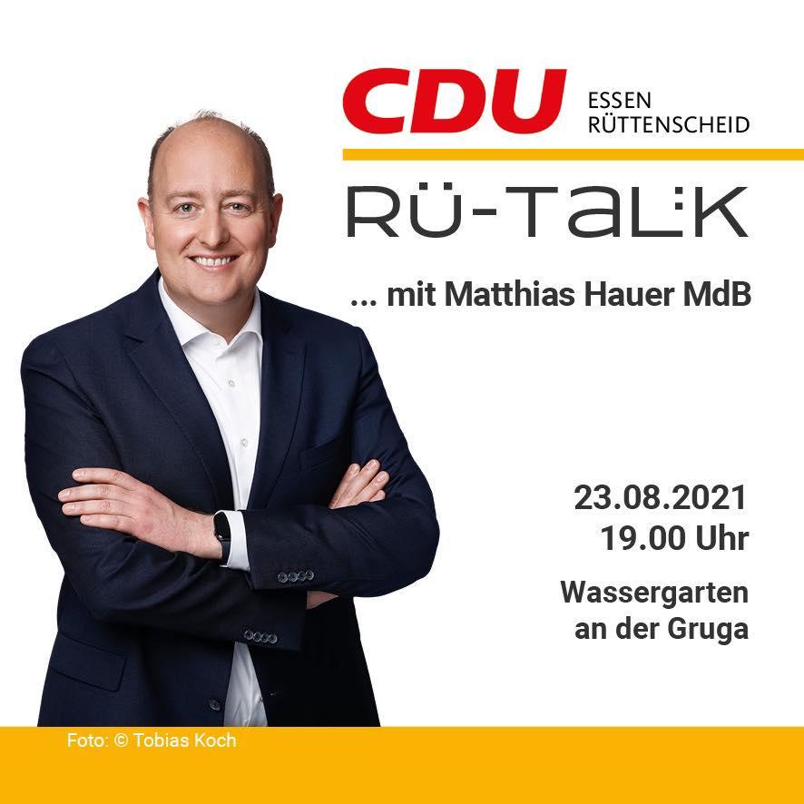 RÜ-Talk zur Bundestagswahl mit Matthias Hauer